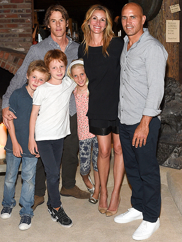 julia roberts and her family