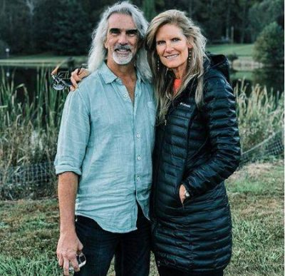 Gospel Music Singer, Guy Penrod with Wife Angie Clark