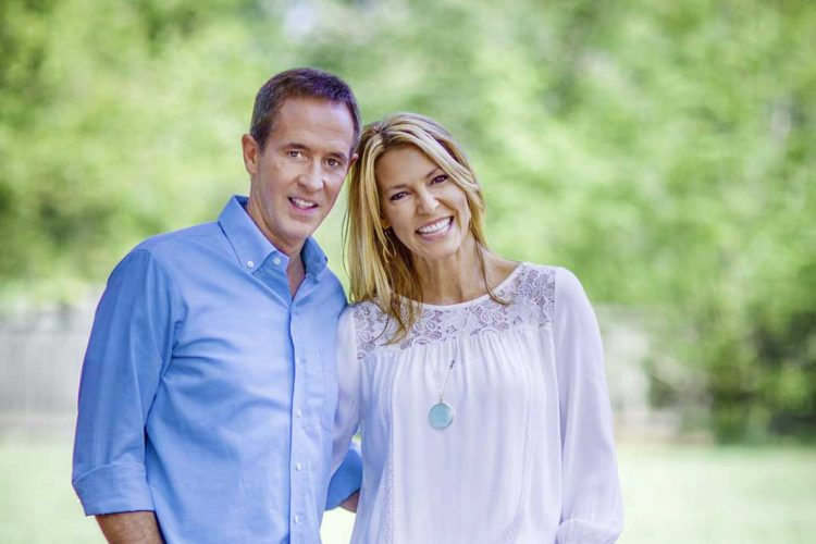 Andy Stanley and his wife Sandra