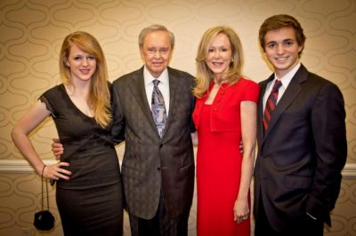 Charles Stanley and his family