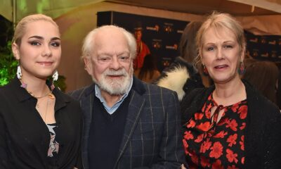 David Jason with his wife and daughter