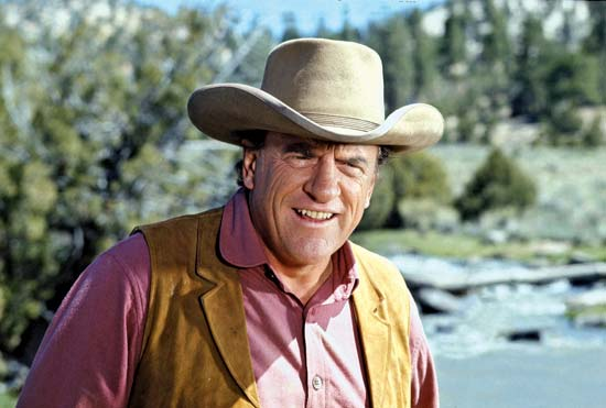 Gunsmoke Star James Arness Photo