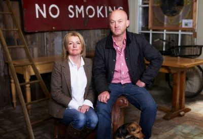 Drew Pritchard and Salvage Hunters Host Rebecca Pritchard Photo