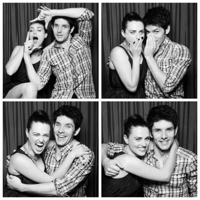 Photo of Colin Morgan and Katie McGrath