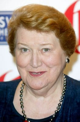 Patricia Routledge, winner Trouper of the Year during Swan Hellenic 2005 Oldie of the Year Awards at Simpsons in the Strand in London, Great Britain. (Photo by Tim Whitby/WireImage)