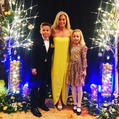 Tracy Smith with her children photo