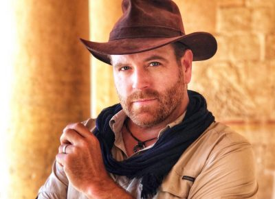Josh Gates Hat Photo