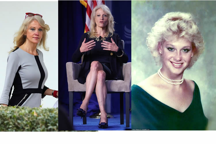 Kellyanne Conway Hot, Legs and Young