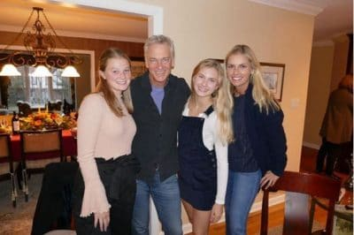 Trace Gallagher wife photo with their daughters