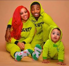 Funny Mike and Jaliyah together with Daughter; Londyn