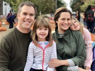 Peter Alexander, Wife, and Kids Photos
