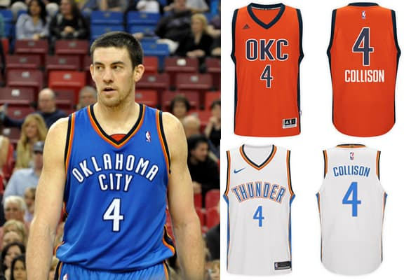 Nick Collison Jersey