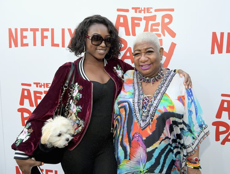 Luenell and Her Daughter Photo