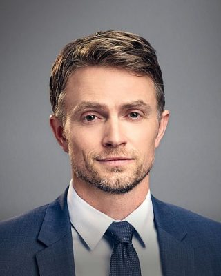 Wilson Bethel- actor and producer well known for his role as Wade Kinsella on the American comedy-drama television series, Hart of Dixie.