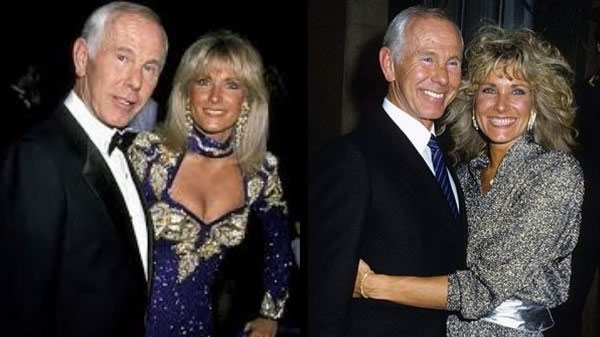 Alexis Maas And Her Husband Johnny Carson Photos