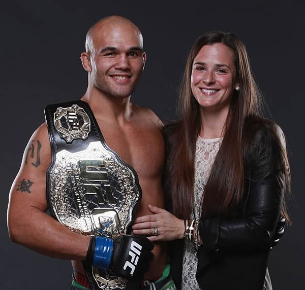 Marcia Lawler And her Husband Robbie Lawler Photo