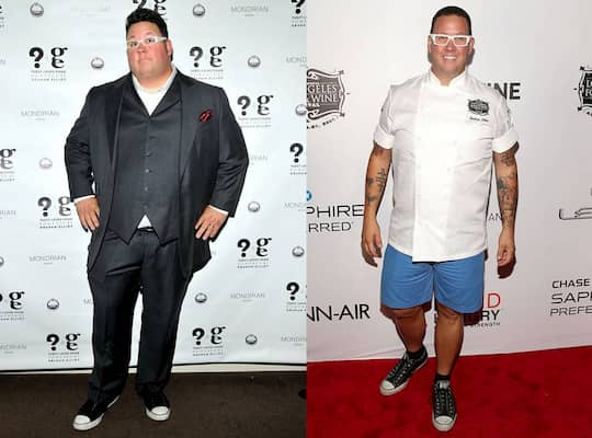 Graham Elliott weight loss photos