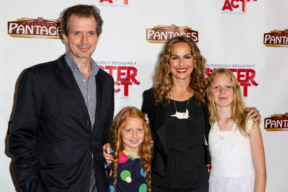 Melora Hardin with her husband Gildart Jackson and two children Photo
