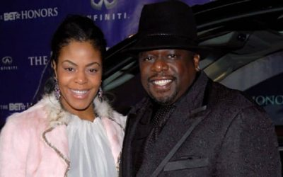 A photo of Cedric The Entertainer with his Wife Lorna Wells