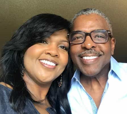 Cece Winans and her husband Alvin Love II Photo