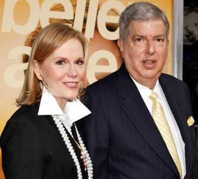 Terre Blair and her late husband Marvin Hamlisch