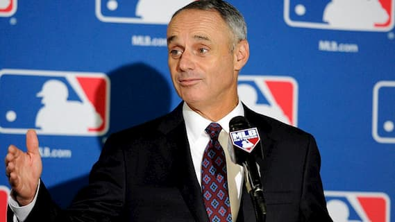 Rob Manfred's Photo