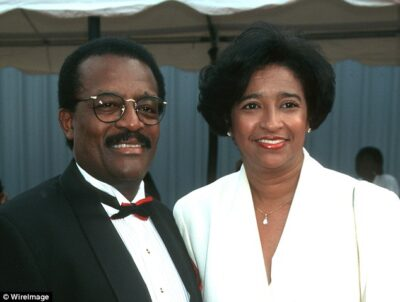 Sylvia Dale and her late husband JoHnnie Cochran Photos