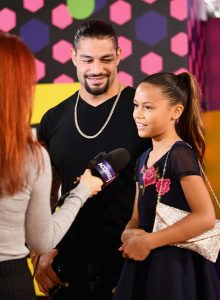 Joelle and Roman Reign at the Teen Choice Awards