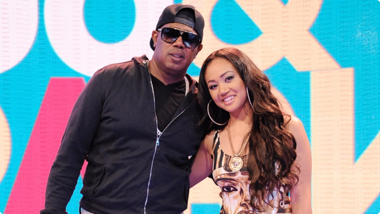 Sonya C Millers with her ex-wife Master P Photo