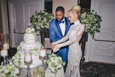 Nicky Whelan wedding with Kerry Rhodes
