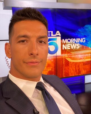 KTLA News Anchor and reporter Mark Mester Photo