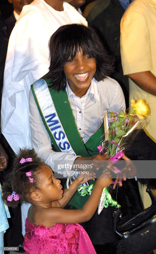 Miss World 2001 Agbani Darego