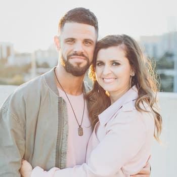 A photo of Pastor Steven with his wife  Holly Furtick