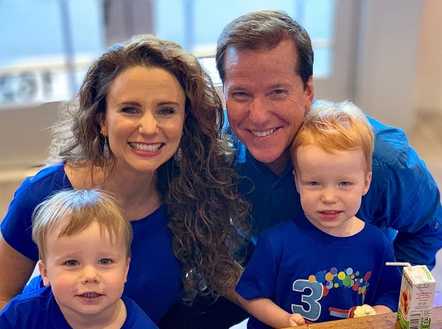 Audrey Murdick, Jeff Dunham and their two twins