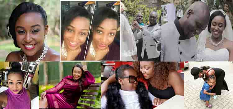 Betty Kyalo Photos, Wedding Photos, Hairestyles And Images of her daughter