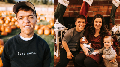 Zach Roloff with his wife and kids Photo