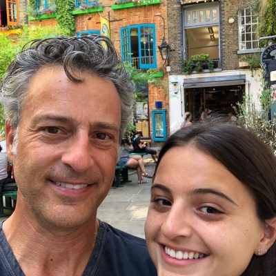 Mike Morse with his daughter Jillian Photo