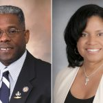 Angela West And Allen West on left Photos