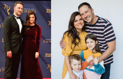 Brady Smith with his wife and Kids Photos