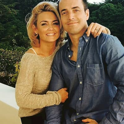 Kelly Carlson with her husband Dan Stanchfield Photo