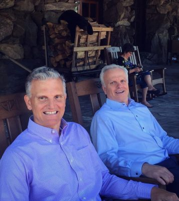 David Neeleman and Brother Steve Picture