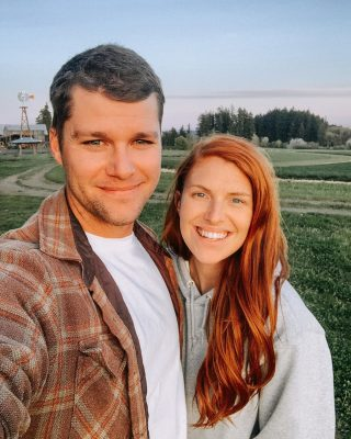 Audrey and Husband Jeremy Roloff Picture