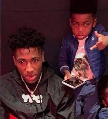NBA YoungBoy and Kayden Gaulden Picture