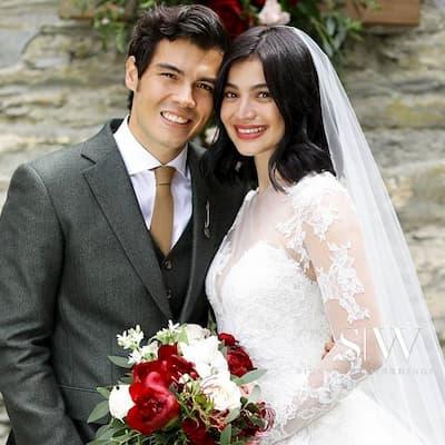 Anne Curtis Erwan Heussaff Wedding Gown Photo