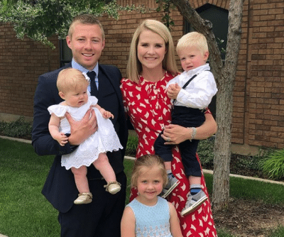 Matthew Gilmour, Elizabeth Smart and Kids Photos
