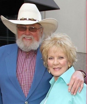A photo of the late Charlie Daniel's with his Wife Hazel Daniels