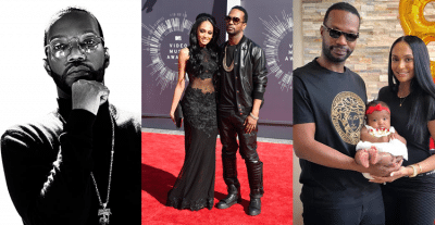 Juicy J with his house and daughter Photos