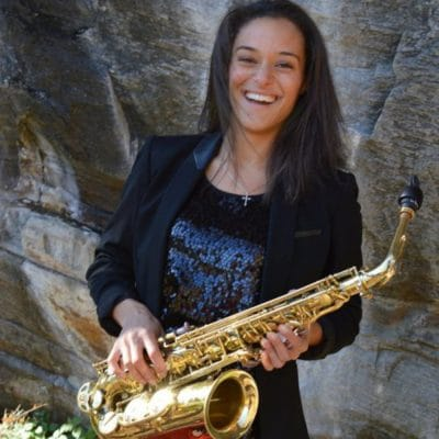 Vanessa Collier- a blues, funk, and soul saxophonist, singer, and songwriter