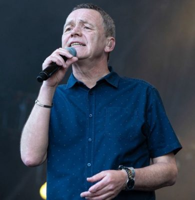 A photo of UB40 lead Singer, Duncan Campbell