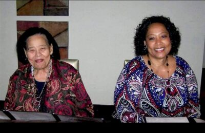 Patricia Edwards and her mom Photo